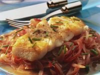 Fried Cod with Onions recipe