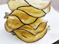 Fried Eggplant Chips recipe