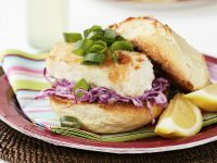 Fried Fish and Coleslaw Sandwiches recipe