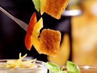 Fried Fish Skewers with Dip recipe