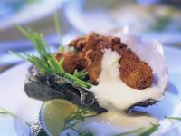 Fried Oysters with Hollandaise recipe