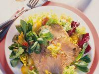 Fried Potato Salad with Gravlax recipe