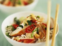 Fried Rice with Chicken recipe