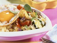 Fried Rice with Fried Egg recipe