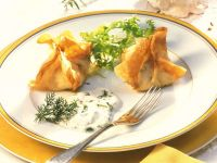 Fried Seafood Wontons recipe