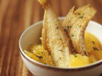 Fried Sole with Orange Sauce recipe