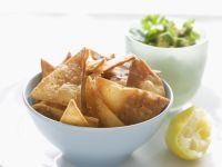 Fried Tortilla Chips recipe
