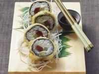 Fried Tuna Maki recipe