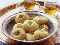 Fried Turkish Pistachio Cakes recipe