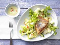 Frisee Lettuce and Melon Salad recipe