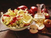 Frisée, Pepper and Apple Salad with Lemon Vinaigrette recipe