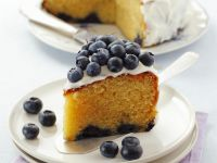 Frosted Berry Gateau recipe