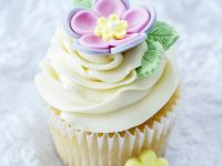 Frosted Floral Cupcakes recipe