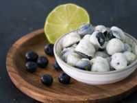Froyo Blueberries recipe