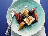 Frozen Poppy Seed Parfait with Caramelized Figs recipe
