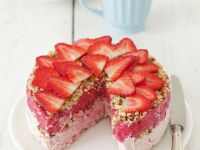 Frozen Summer Berry Gateau recipe