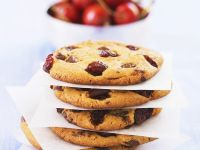 Fruit and Chocolate Biscuits recipe