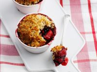 Fruit and Coconut Crumbles recipe