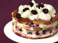Fruit and Cream Gateau recipe