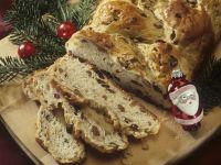 Fruit and Nut Christmas Braided Bread recipe
