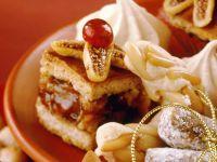Fruit and Nut Filled Fruitcake Squares recipe