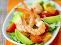 Fruit and Prawn Bowl recipe