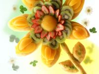 Fruit Blossom Bread