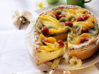 Fruit Cheesecake recipe