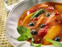 Fruit Compote with Champagne recipe