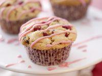 Fruit Drizzle Cakes recipe
