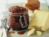 Fruit Relish with Garnish recipe