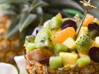 Fruit Salad in Pineapple recipe