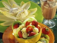 Fruit Salad with Cream Cheese recipe
