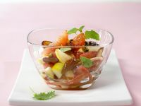 Fruit Salad with Grapefruit, Pear, and Dates recipe