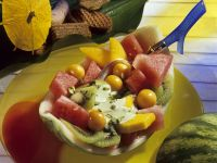 Fruit Salad with Watermelon and Kiwi recipe