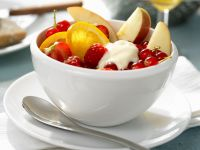 Fruit Salad with Yogurt recipe