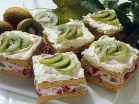 Fruit Slices with Cream recipe