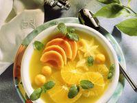 Fruit Soup with Star Fruit and Papaya recipe