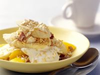 Fruit, Yogurt and Muesli Breakfast Bowls recipe
