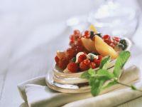 Fruits with Yogurt Sauce recipe