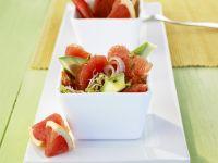 Fruity Avocado Salad with Grapefruit recipe