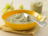 Fruity Brussels Sprouts-Beef Porridge recipe