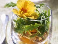 Fruity Chicken Salad with Arugula recipe