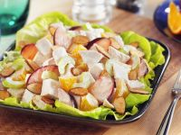 Fruity Chicken Salad with Oranges, Celery and Almonds recipe