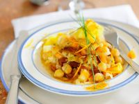 Fruity Chickpea and Anchovy Stew recipe