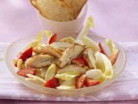 Fruity Chicory Salad with Chicken Breast recipe