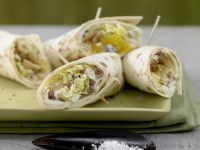 Fruity Chinese Cabbage Wraps recipe