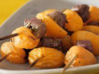 Fruity Duck Breast Skewers recipe