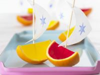 Fruity Jelly Boats recipe