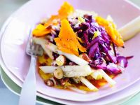 Fruity Red Cabbage and Pumpkin Salad recipe